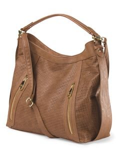 Rose Hobo With Zippers Brand Name Clothing, Tj Maxx, Bag Accessories, Purses And Bags, Your Style, Zippers, Handbags, Stylish, Rose