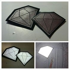 Pedestrian safety reflector made of leather