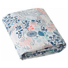 DwellStudio Crib Sheet Meadow Powder Blue @LaylaGrayce
