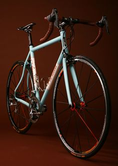Vanilla Bicycle, handmade, last time I checked.. a five year wait. I'll probably never own one, but I can dream..