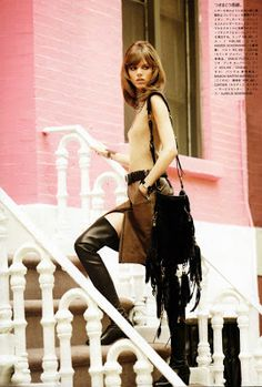 Freja Beha Erichsen for Vogue Nippon August 2010 by Terry Richardson | Daily Styling Deluxe