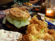 How to make fried green tomatoes - Debbiedoos