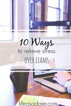 Exam season is here, and it brings stress with it in abundance! Don't let yourself get overwhelmed though, with these fun tips to help you deal with stress!