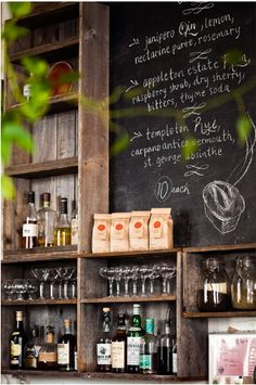 Would love to utilise the chalk boards in the new venue also.