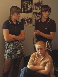 "films like ""This is England"" interest my target audience as they give both style inspiration and information on the era that inspires their look"