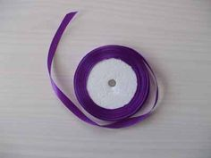 purple satin ribbon  22 £1.50