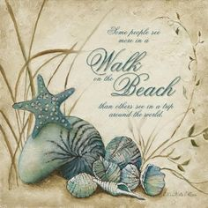 Coastal, Ocean & Beach Art Prints on Rustic Wood