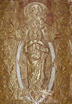 French Sacred Textile.  Cliquer pour fermer ou pour déplacer cette image . Utliser les flèches pour passer à l'image suivante ou précedente.