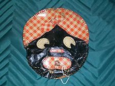Vintage Black Americana String Holder