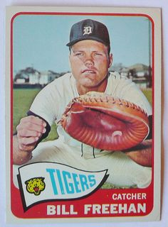 BILL FREEHAN DETROIT TIGERS 1965
