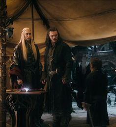 Thranduil, Bard and Bilbo