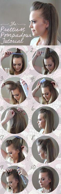 13 Five-Minute Hairstyles For School   stylequick #easyhairstylesforwork