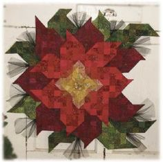 Poinsettia Passion Kit (just add fabric) wow - this is a beauty