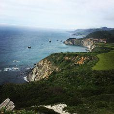 California or Ireland? #sogreen #bigsur #california #californialove #calocals - posted by Allison Rogers https://www.instagram.com/abpursell - See more of Big Sur, CA at http://bigsurlocals.com