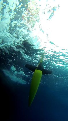 Glider 1 is underwater - just where it belongs!