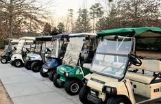 Golf cart windshields come in either clear acrylic or tinted acrylic. A tinted windshield does help to reduce glare and typically costs just a little more than the clear one. Golf Cart Windshield, Golf Cart Bodies, Golf Cart Accessories, Wheel Cover, Golf Carts, Clear Acrylic