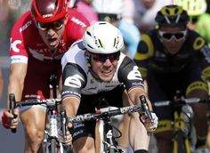 Cavendish is competing in the Tour of Britain. Picture: Action Images
