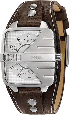 Fossil Analog Dial Watch ($95)