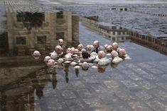 Isaac Cordal y sus esculturas de cemento   Leedor.com