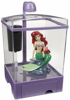 Tetra Little Mermaid Aquarium Kit   1.5 Gallon....want These Makes Me