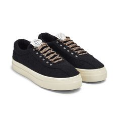 Stepney Workers Club join forces this season with LA based powerhouse, Brain Dead to create a boucle wool iteration of the dellow silhouette. Black Wool, Brain, Club, Sneakers, Store, Women, The Brain, Tennis, Slippers