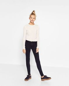 Image 1 of BODY CURVE JEGGINGS from Zara