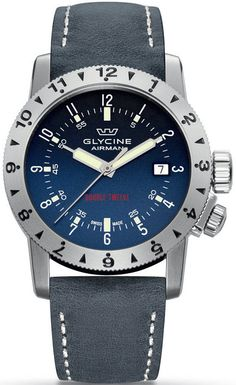 Glycine Watch Airman Double Twelve #basel-15 #bezel-unidirectional #bracelet-strap-leather #brand-glycine #case-depth-11-8mm #case-material-steel #case-width-40mm #date-yes #delivery-timescale-call-us #dial-colour-blue #gender-mens #luxury #movement-automatic #new-product-yes #official-stockist-for-glycine-watches #packaging-glycine-watch-packaging #style-sports #subcat-airman #supplier-model-no-3938-18-lb8b #warranty-glycine-official-2-year-guarantee #water-resistant-200m