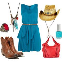 Country Concert or Red Sky Festival #Concert #outfits