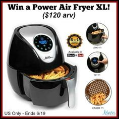 Enter to Win a Power Air Fryer XL