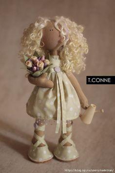 Handmade Doll | Patrones t konne
