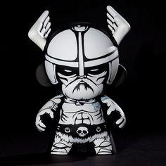 "Custom ""Viking"" Mini-Munny by Jon-Paul Kaiser"