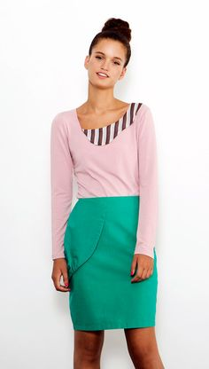 Pink Collared Shirt, Long sleeves Top, Casual Top, Collared Blouse, Winter Top, Women Shirt, Printed Collar