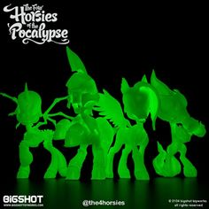 Big Shot Toy Works - Four Horsies of the 'Pocalypse 2
