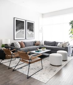 Condo Living Room, House Rooms, Living Room Decor, Living Room Interior, Living Room Inspiration, Home Interior Design, Living Room Designs, Sofas, Decoration