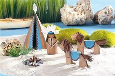 Ein kleiner Indianer mit Zelt und Pferden – ganz aus Papier. Wir zeigen Ihnen, wie's geht. Außerdem: Faltvorlagen zum gratis Download. Klicken Sie hier fürs Indianer basteln! © OZ Verlag