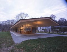 Gable Porch Roof Framing | Hip Green Gable: Tiny-Plan House Framed by Far-Out Roof | Designs ...