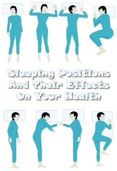 Sleeping Positions And Their Effects On Your Health - Beauty Tutorials