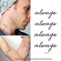 5 pcs Disposable waterproof small tattoo tattoo stickers and fresh HC1118