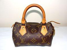 Authentic Louis Vuitton Speedy Mini Handbag  Monogram Tote