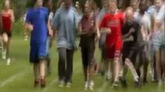 Woah kids not being total jerks to one another?!   Boy With Cerebral Palsy Runs Race With a Little Help From His Friends