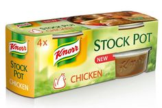 Super-convenient, incredibly flavoursome #KNORR Stock Pots! Click on the image to find out more about using Stock Pots in YOUR kitchen.