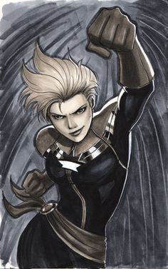Captain Marvel by Protokitty.deviantart.com on @deviantART