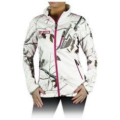 Snow camo jacket and bibs