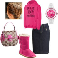 """""""Winter Graphic"""" by charitree on Polyvore"""