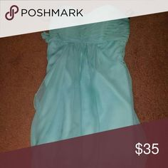 Selling this Strapless, knee length dress on Poshmark! My username is: bweitz17. #shopmycloset #poshmark #fashion #shopping #style #forsale #Dresses & Skirts