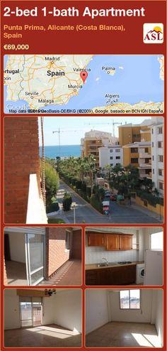 2-bed 1-bath Apartment in Punta Prima, Alicante (Costa Blanca), Spain ►€69,000 #PropertyForSaleInSpain