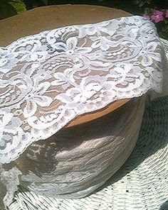 10 yards 6 inch wide lace $20