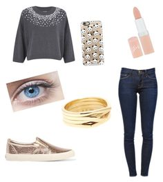 """""""Untitled #63"""" by zysel on Polyvore featuring MICHAEL Michael Kors, Frame Denim, Superga, Casetify, Rimmel, Repossi, women's clothing, women, female and woman"""