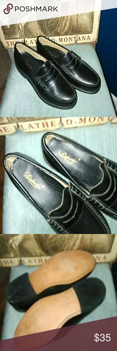 Diplomat Penny loafers EUC--8.5 B genuine leather Shoes Loafers & Slip-Ons