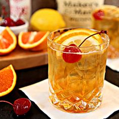 Old Fashioned Cocktail | My favorite Classic Cocktail!